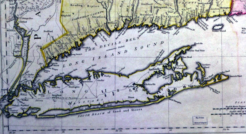 ch1 The Battle Of Long Island Between British And American Map on