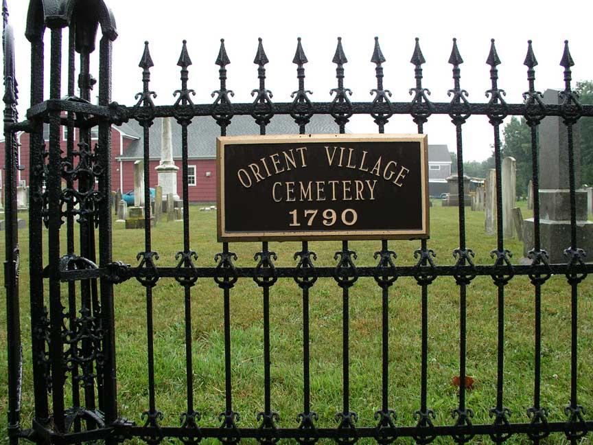 Orient Village Cemetery